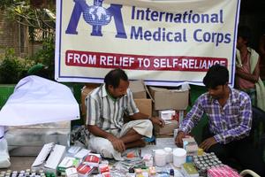 Inernational Medical Corps Mobile Medical Unit