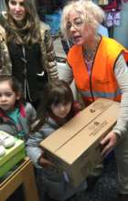 Distributions: Donated supplies are getting rare