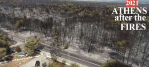 ATHENS AFTER THE WILD FIRES