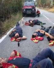 FIREMEN were nonstop calling us for medical care