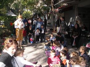 Street Fair for school equipment distributions