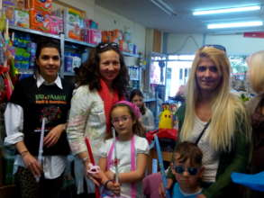 Month of May. Greek Easter-Candles & Gifts to kids