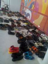 We offered shoes for Syrian and Afghan families