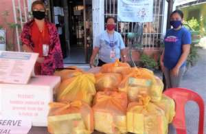 Relief packages from AAI are ready to deliver