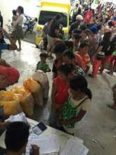 temporary shelter for flood victims