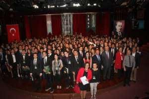 350 students attended to the MUN Conference