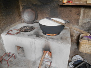Cooking on the Emelda Stove