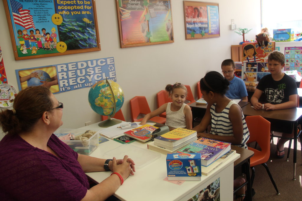 Teach 36 children with limited English to read