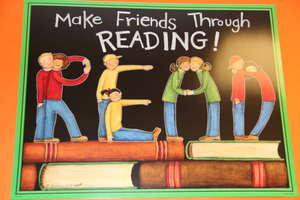 Make Friends Through Reading!