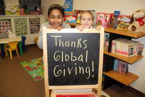 Thanks, Global Giving!