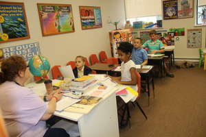 Small group reading activity