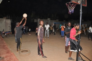 Sports program at the centre!