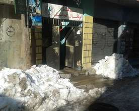 """Entrance to """"Children of Jalil Center"""" our partner"""