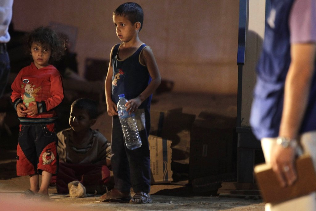 Emergency Aid for Children Fleeing Syria