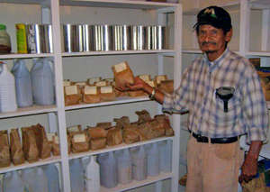 One of the Seed Banks in Honduras.