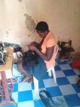 GLV doing hair dressings