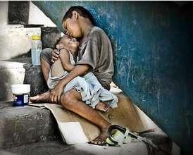 Street children in Nepal