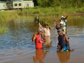 BRG's team of Sepik landowners on their journey
