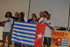 West Papuan Delegates at the RO conference in 2014
