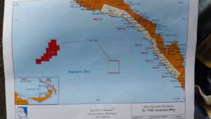 Exploration License 1196, Bismarck Sea