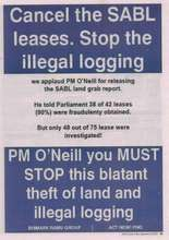 Stop Illegal Logging