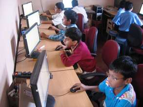 Computer training at DSF Centres