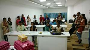 DSF Students visiting a S/W company in Bangalore