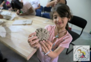 Creativity and new skills during Karama's camps