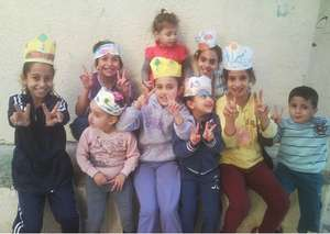 Smiles and creativity in the Karama center