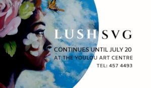 """Poster for the show """"Lush SVG"""""""