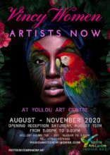 Poster promoting the 2020 Women's show