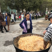 How much plov?! Celebrating Nauryz in Shymkent