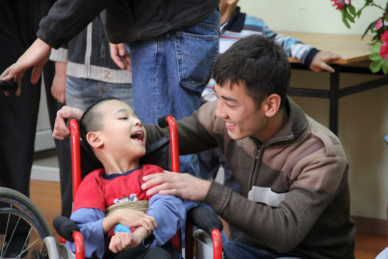 Be a changemaker for the forgotten of Central Asia