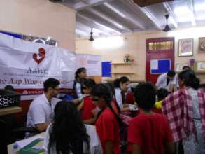Health check up camp for Udaan beneficiaries.