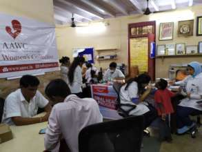 Dental camp for Udaan beneficiaries.