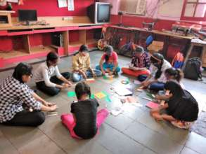 Art and Craft activity for Udaan Beneficiaries.
