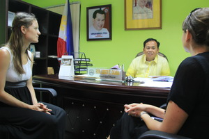 Courtesy meeting with Tolosa Municipal Mayor