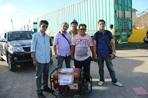 Power Generator for Tolosa, Leyte
