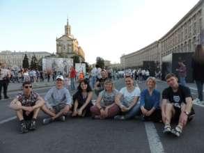 "Excursion of the YC ""Alternative"" to Kyiv"