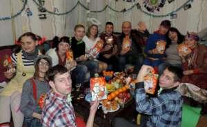 NY's celebration in Dnipro