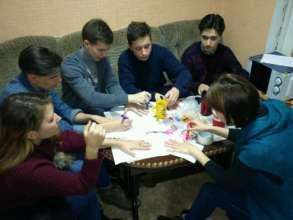 Youth club training in Kaniv