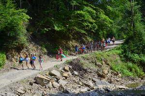 Carpathians: exploration of hiking routes