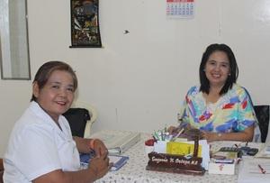 Evelyn and Dr. Ortega