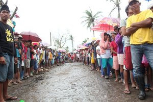 840 beneficiaries in Alangalang, Leyte