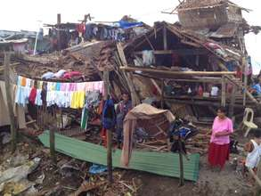 CARE photo of destruction in Ormoc