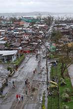 Tacloban City destruction