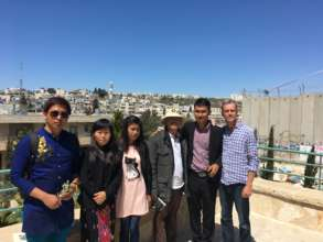 Visiting Palestine Peace Center in Bethlehem