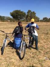 Using bicycles in the field