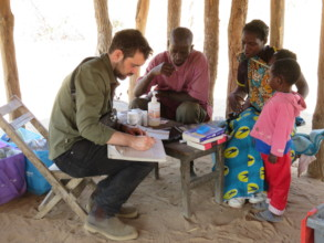 CHWs and doctors working together