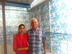 With sujata In Bangalore, October 17, 201